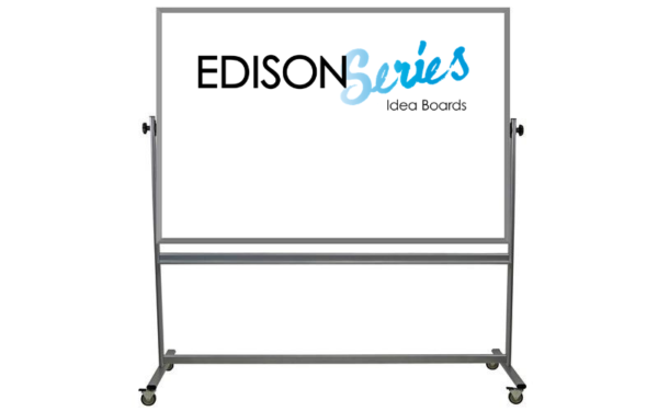 mobile whiteboard, double sided, 48x72 dry erase surfaces